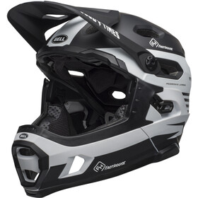 Bell Super DH MIPS Casque, matte black/white fasthouse